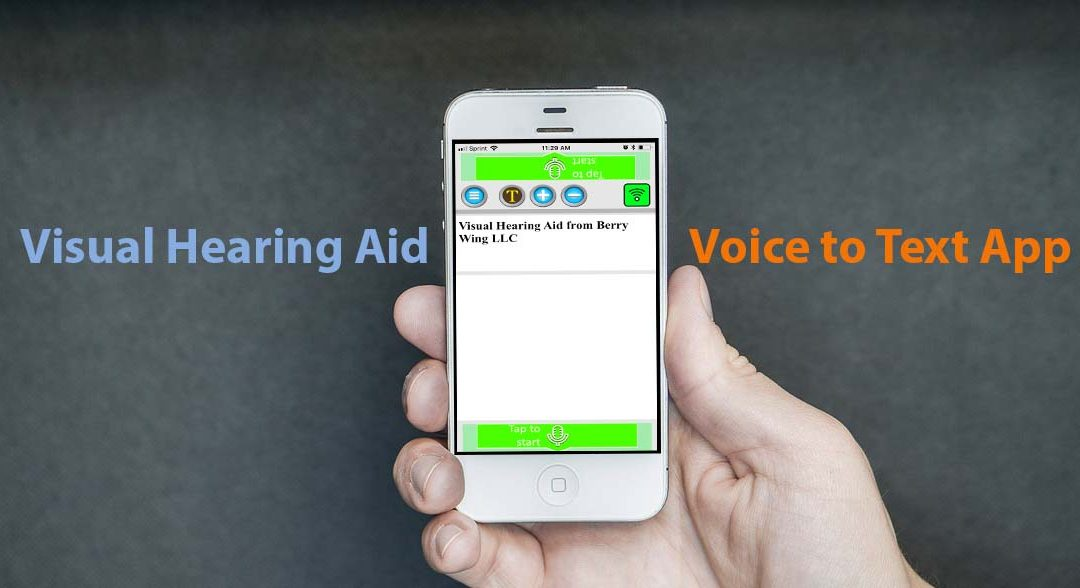 How Visual Hearing Aid, a Voice to Text App, Saved the Day for Myron